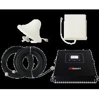 Zestaw (Wersja B) Repeater HI13-EDW z antena zewnętrzną panelową i wewnętrzną sufitową