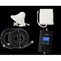 Zestaw (Wersja C) Repeater HI13-EGSM z antena zewnętrzną panelową i wewnętrzną sufitową