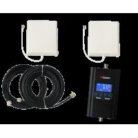 Zestaw (Wersja C) Repeater HI13-EW z antena zewnętrzną panelową i wewnętrzną panelową