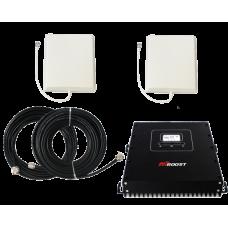 Zestaw (Wersja B) Repeater HI20-5S z anteną zewnętrzną panelową i wewnętrzną panelową