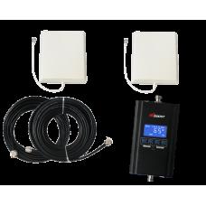 Zestaw (Wersja C) Repeater HI20-ED z anteną zewnętrzną panelową i wewnętrzną panelową