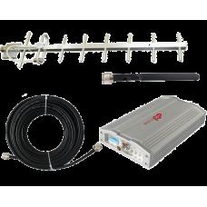 Zestaw (Wersja C) Repeater ZRD10E-EGSM z antena zewnętrzną Yagi 14dB