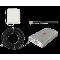 Zestaw (Wersja B) Repeater ZRD10E-EW z antena zewnętrzną panelową