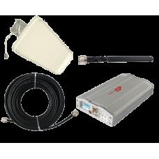 Zestaw (Wersja C) Repeater ZRD10E-EW z antena zewnętrzną logarytmiczną 9dBi