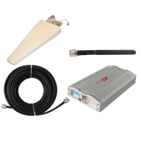 Zestaw (Wersja D) Repeater ZRD10E-EW z antena zewnętrzną logarytmiczną 11dBi