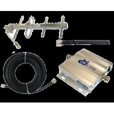 Zestaw (Wersja B) Repeater ZRD10E-GSM z antena zewnętrzną Yagi 6dBi