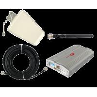 Zestaw (Wersja C) Repeater ZRD10E-W z antena zewnętrzną logarytmiczną 9dBi