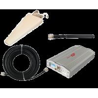 Zestaw (Wersja D) Repeater ZRD10E-W z antena zewnętrzną logarytmiczną 11dBi