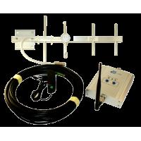 Zestaw (Wersja B) Repeater ZRD10I-GSM z antena zewnętrzną Yagi 6dBi