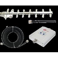 Zestaw (Wersja C) Repeater ZRD10I-GSM z antena zewnętrzną Yagi 14dB