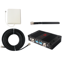 Zestaw (Wersja A) Repeater ZRD15-ED z antena zewnętrzną panelową