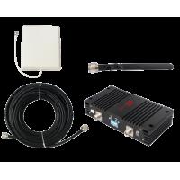 Zestaw (Wersja A) Repeater ZRD15-W z antena zewnętrzną panelową