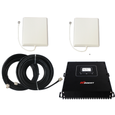 Zestaw (Wersja B) Repeater HI13-5S z antena zewnętrzną panelową i wewnętrzną panelową