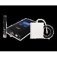 Zestaw (Wersja A) Repeater HI17-EGSM z antena zewnętrzną panelową i wewnętrzną WHIP