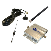 Zestaw (Wersja A) Repeater ZRD10E-GSM z antena zewnętrzną magnetyczną