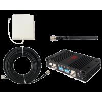 Zestaw (Wersja A) Repeater ZRD15-EW z antena zewnętrzną panelową
